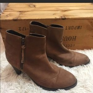 Leather Booties- 11